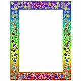 Scholastic TF3581 Printer Paper, Rainbow Stars!