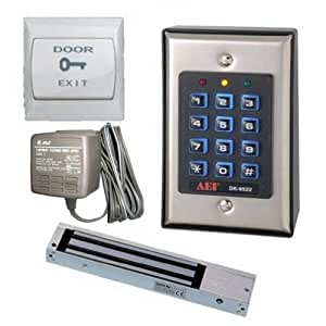 two relay digital keypad door entry set with. Black Bedroom Furniture Sets. Home Design Ideas