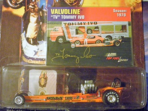 Top Fuel Dragster Legends TV Tommy Ivo (Valvoline) 1:64 scale die-cast dragster by Johnny Lightning