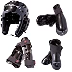 Macho Dyna 7 piece sparring gear set with shin guards by Macho
