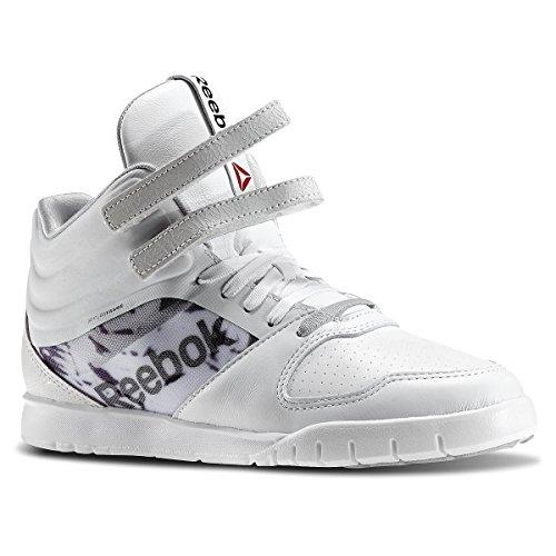 Reebok Dance Urlead Mid Se - Ballet Mujer Blanco - Blanc (White/Black/Mgh Solid Grey)