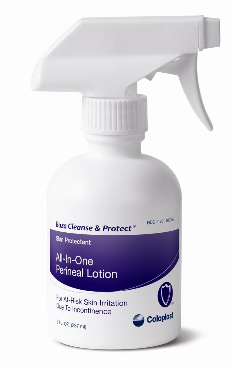 Baza Cleanse & Protect Perineal Lotion, Unscented, 8 fl. Oz. 7712 (Case of 12) by Coloplast