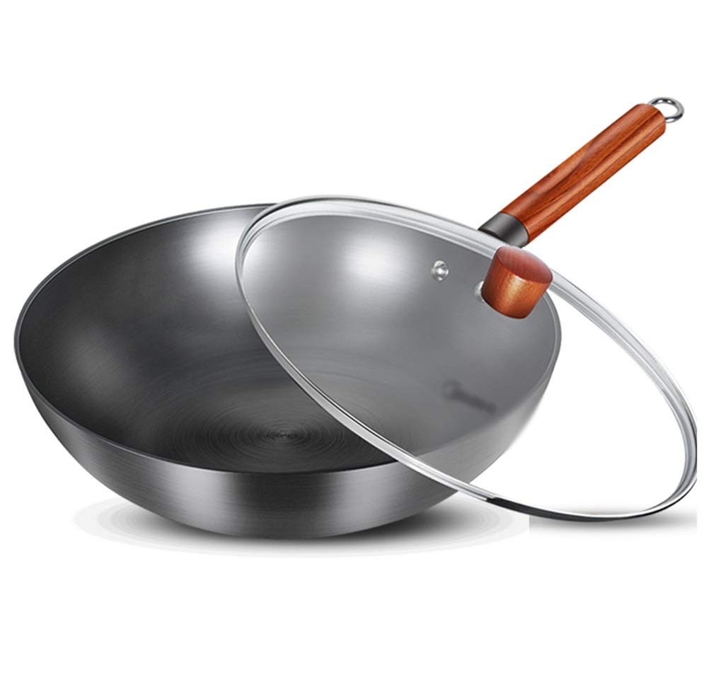 WYQSZ Wok - Home Wok Multi-function Cooking Pot With Exquisite And Durable Frying Pan Wok -fry pan 2365