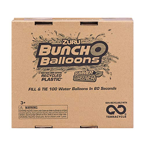 Bunch O Balloons – 350 Rapid-Fill Water Balloons (10 Count) Amazon Exclusive, Multi-Colored, Colors May Vary