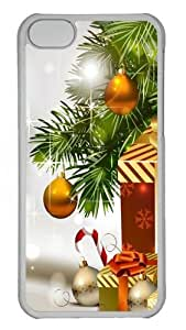 iPhone 5C Case and Cover -ChrIstmas Gifts PC Case Cover for iPhone 5C and iPhone 5C Transparent