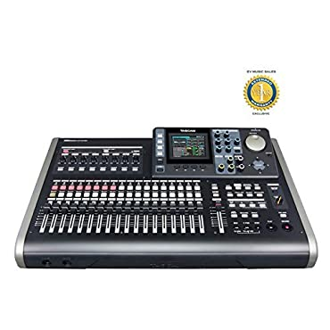 Tascam DP-24SD All-in-one Channel Digital Multitrack Recorder