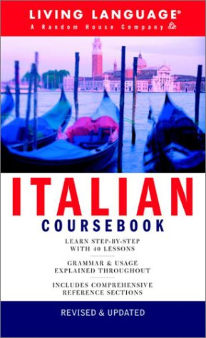 Italian Coursebook: Basic-Intermediate (LL(R) Complete Basic Courses)