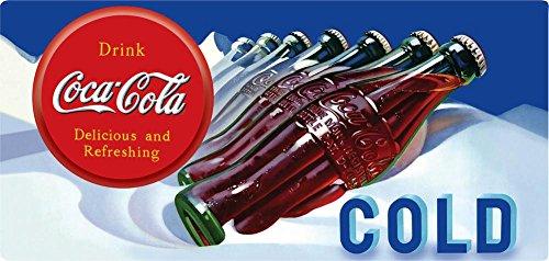 Cold Coca Cola Tin Sign - 7