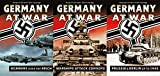 Germany At War Collection - Bombers Over The Reich (010), Warships Attack Convoys (011) & Prussia & Berlin Up To 1945 (012) - Original German Film Footage - 3-DVD Bundle