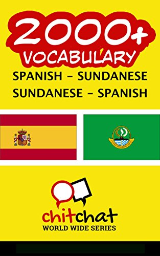 2000+ Spanish - Sundanese Sundanese - Spanish Vocabulary