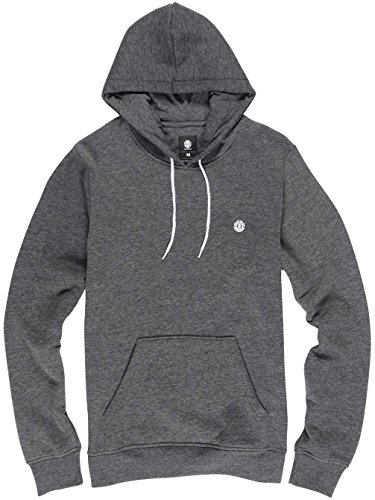 Element Grime Pullover Hood Charcoal Heather Small