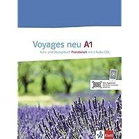 Voyages neu A1: Kurs- und Übungsbuch + 2 Audio-CDs