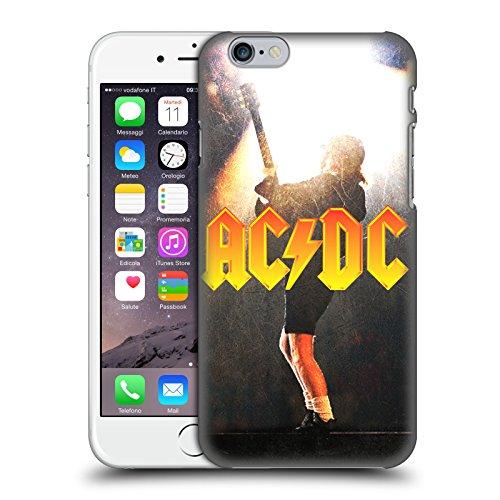 Officiel AC/DC ACDC Angus Young Concerte Solo Étui Coque D'Arrière Rigide Pour Apple iPhone 6 / 6s