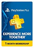 Video Games : PlayStation Plus: 1 Month Membership [Digital Code]