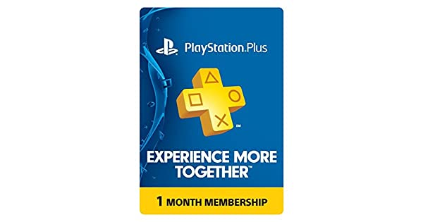 Amazon.com: PlayStation Plus: 1 Month Membership [Digital ...