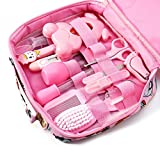 LoXTong 13pcs/Set Newborn Baby Kids Nail Hair Health Care Thermometer Grooming Brush Kit,Multifunctional Appliances for Newbron Babies.