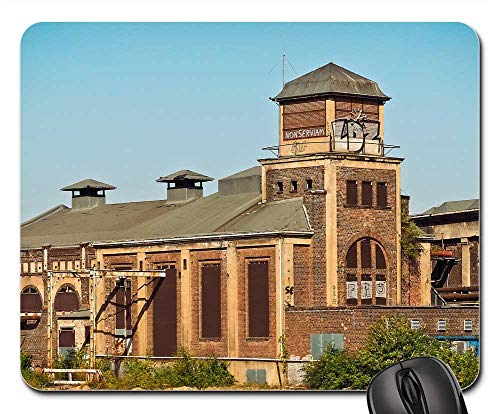 Mouse Pad - Architecture Factory Old Factory Industry Building 1 ()