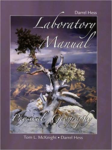 Laboratory manual for physical geography a landscape appreciation laboratory manual for physical geography a landscape appreciation darrel hess 9780132381130 amazon books fandeluxe Gallery