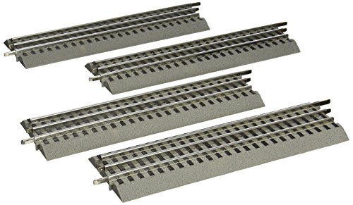 Lionel O Scale Train - Lionel FasTrack - O-Gauge Straight Track - 4 Pack