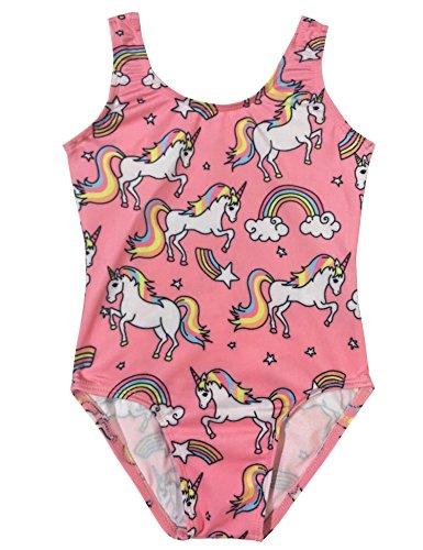 81b60b3684be LaChica Girls  Pink Gymnastics Leotard Biketard - Buy Online in UAE ...