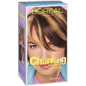 L'Oreal Paris Chunking Blocks of Highlights for Medium Brown to Dark Brown Hair
