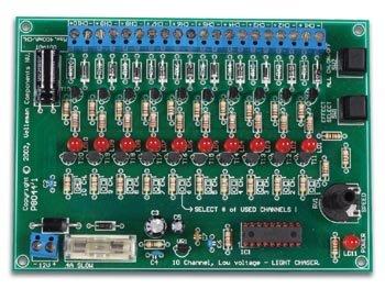 Velleman K8044 10-Channel Low-Voltage Light Chaser