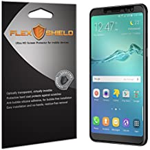 Samsung Galaxy A8 Screen Protector (5-Pack), Flex Shield Clear Screen Protector for Samsung Galaxy A8 (2018) Bubble-Free and Scratch Resistant Film