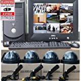 16 CH Security CCTV DVR System Powered by Dell with warning DeCal DVS16K 1KO