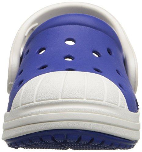 Crocs Bumper Toe Clog Kids - Zapatillas Unisex Niños Blu (Cerulean Blue/Oyster)