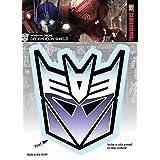 Transformers Decepticon Shield Logo Car Window Decal Sticker