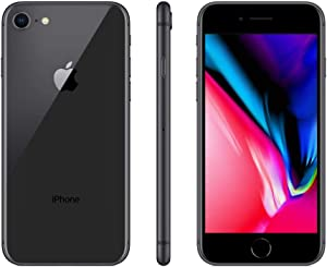 Apple iPhone 8, 64GB, Space Gray - for Cricket Wireless (Renewed)