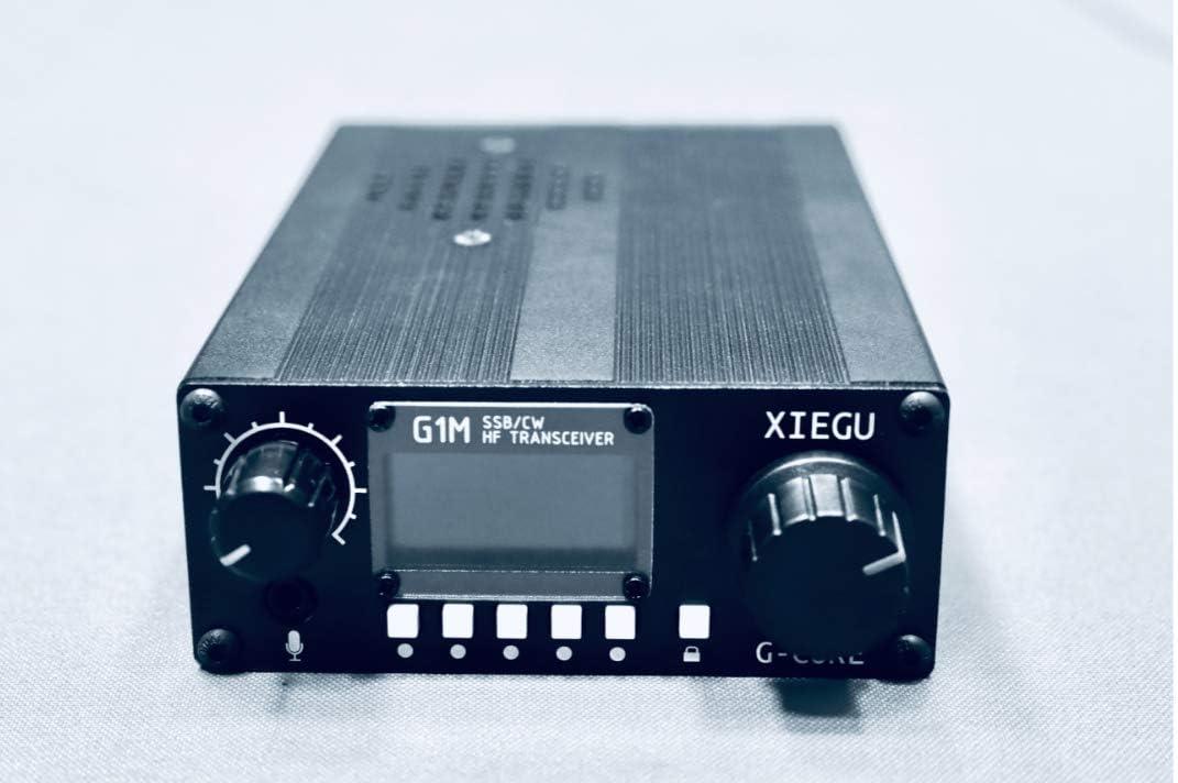 XIEGU G1M Portable QRP HF Transceiver SDR Transceiver Four Bands SSB CW AM Mode 5 Watt