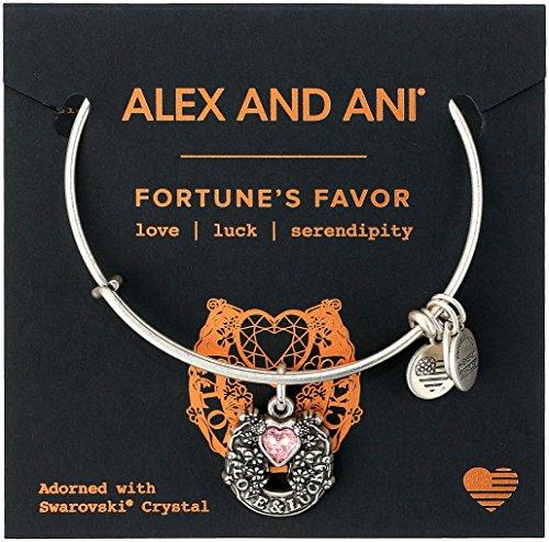 Alex and Ani Fortunes Favor Bangle Bracelet