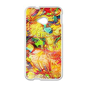 Creative Pattern Hot Seller High Quality Case Cove For HTC M7