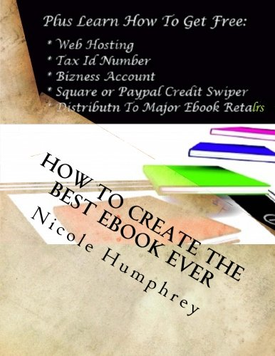 How to Create the Best eBook Ever