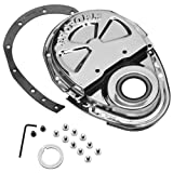 Proform 66666 Chrome Timing Chain, Chrome Cover, 2-Piece