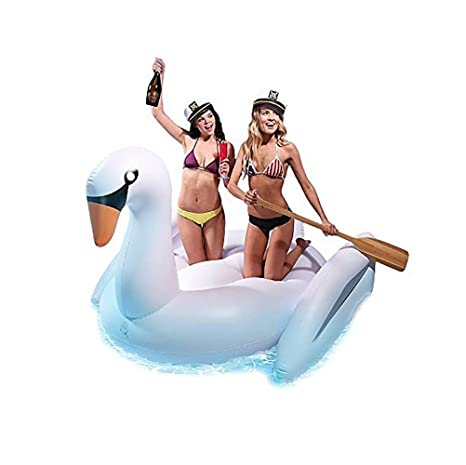 Ardisle Swimming Pool Raft Giant Swan Flotador inflable Toy ...