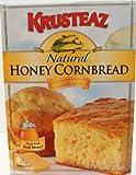 Krusteaz Natural Honey Cornbread & Muffin Mix 15 OZ (Pack of 6)