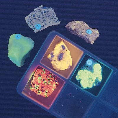 470017-408 - Introductory Fluorescent Rock Collection - Introductory to Fluorescent Rock Collection - Kit of (Introductory Collection)