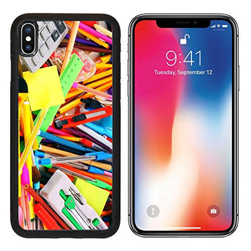 MSD Premium Apple iPhone X Aluminum Backplate Bumper Snap Case IMAGE ID: 31101969 Stationery and school accessories