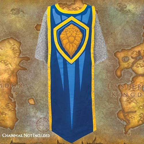 Museum Replicas World of Warcraft Alliance Wearable Tabard