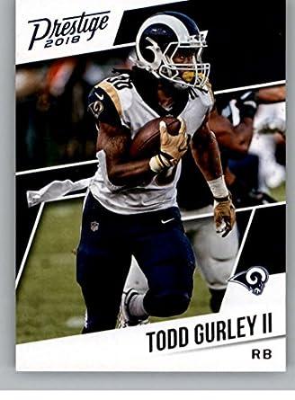 2018 Prestige NFL  183 Todd Gurley II Los Angeles Rams Panini Football Card b44e85e9c