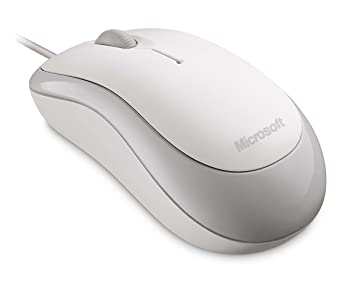 Microsoft Basic Optical Mouse - White (Business Packaging)