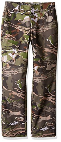 Under Armour Boys' Field Pants,Ridge Reaper Camo Fo (943)/Black, 18