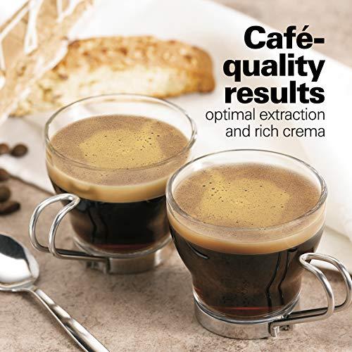 Hamilton Beach 40792 Espresso & Cappuccino Maker, Black by Hamilton Beach (Image #4)