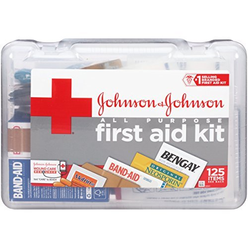Perfect Baby shower gift idea list for necessity baby gifts: Johnson & Johnson Red Cross All Purpose First Aid Kit
