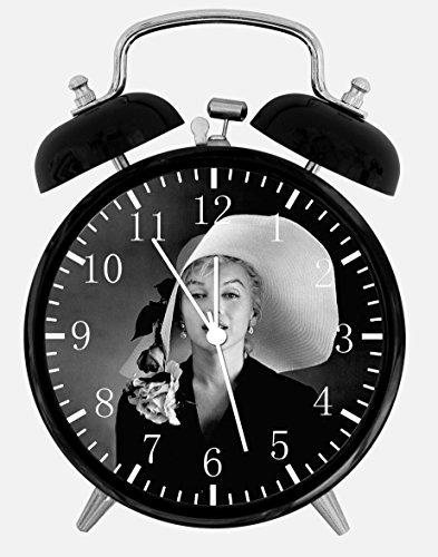 Marilyn Monroe Alarm Desk Clock 3.75