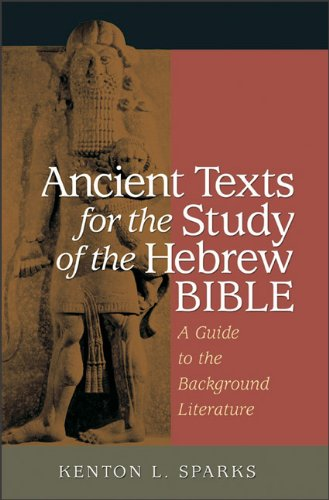 Ancient Texts for the Study of the Hebrew Bible: A Guide...
