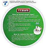 YYXLIFE Double Sided Carpet Tape for Area Rugs
