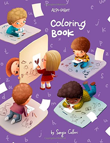 Alphabet Coloring Book: Activity Book for Toddlers and Preschool Kids to Learn the English Alphabet A to Z (ABC for Ages 3-5 Years Old) ebook